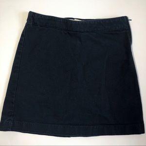 Lands' End Girls Uniform Navy Blue Skort Sz 8 Slim